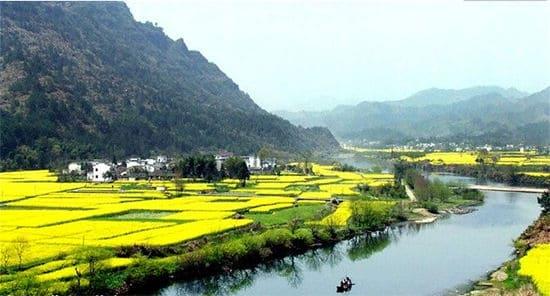 xiuning county